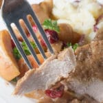 Crock Pot Pork Chops with Cranberries and Apples