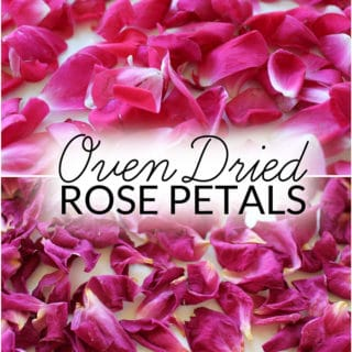 How to Dry Rose Petals at Home with No Special Supplies