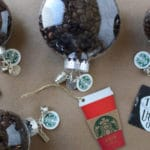 Holiday Craft Idea: Coffee Bean Customizable Ornaments