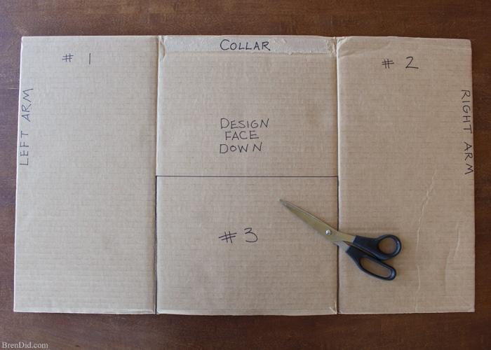 Make an Easy DIY T-Shirt Folding Device from a Cardboard ...