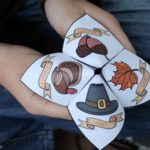 Gratitude Activity for Kids: Thanksgiving Cootie Catcher