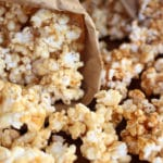 Easy Homemade Caramel Corn and Caramel Sauce Recipe