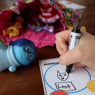 Free Printable Inside Out Emotions Game for Kids
