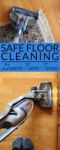 Safe Floor Cleaning - the removal of dust & debris with non-toxic cleaning & vacuuming – is important for healthy homes and indoor air quality. Learn how on BrenDid.com.