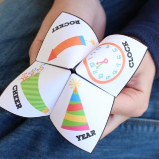 New Year's Eve Party Game for Kids – Fortune Teller