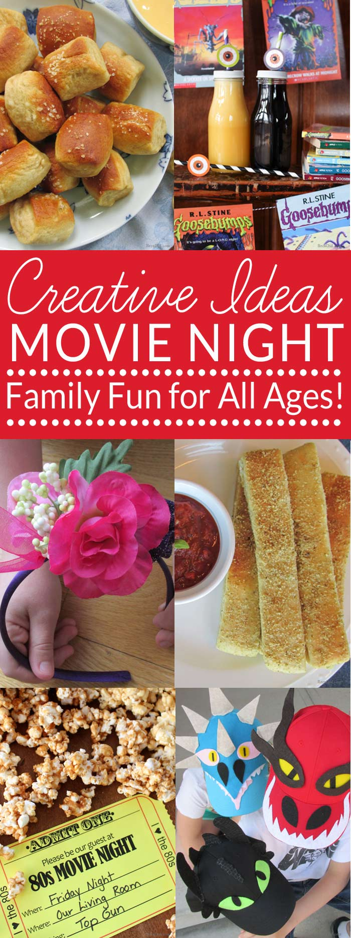 "Looking for a way to bond and spend time with your kids? Start a family movie night tradition. Our family has had ""family movie night"" or ""family night in"" for years. I love that I can still capture my teenager's attention with movies and tasty treats! Get 8 great tips for hosting your own family movie night plus lots of fun family movie suggestions."
