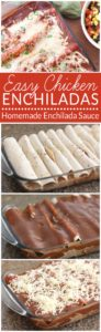 Homemade Enchilada Sauce - This is the easiest and most delicious red enchilada sauce recipe. This EASY recipe tastes much better than sauce from a can! In just 5 minutes you can have UNBELIEVABLY good enchilada sauce. You'll never go back to the store-bought, overly processed sauce again! Plus Easy Chicken Enchiladas recipe.