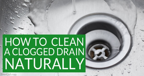 Want To Naturally Unclog A Sink Or Clean A Slow Moving Drain? Learn Why You
