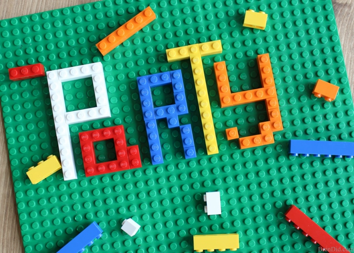 How to make lego party invitations bren did looking for original or free lego birthday party invitations this step by step solutioingenieria Choice Image