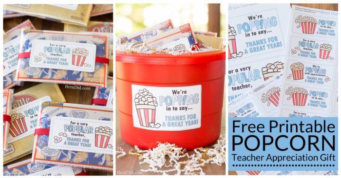Popular & Quick Gift Tags for Teacher Appreciation Week ...