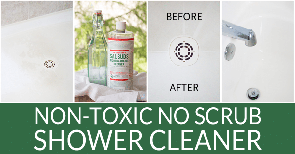 Non-Toxic No Scrub Shower Cleaner - Bren Did