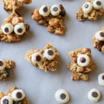 Healthy Halloween Treats for Kids: Maple Nut Granola Clusters