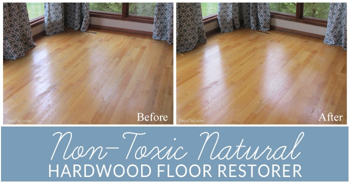 Hardwood floors get dingy in homes with kids & pets. All natural restorer for hardwood floors makes floors shine like new and eliminates scratches & scuffs.