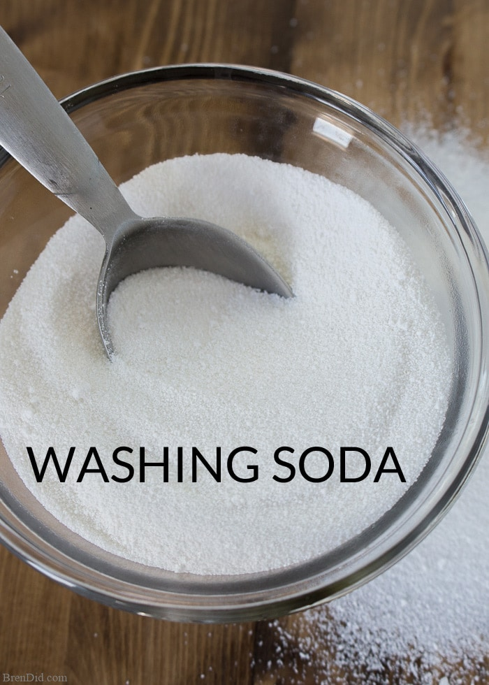 Baking Soda and Washing Soda sound similar but they are definitely not the  same product.