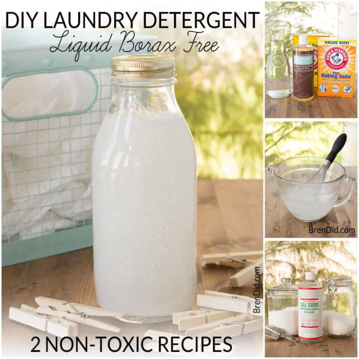 DIY Laundry Detergent Liquid: 2 Non