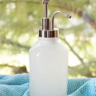 Non-Toxic Homemade Dish Detergent for Hand Washing