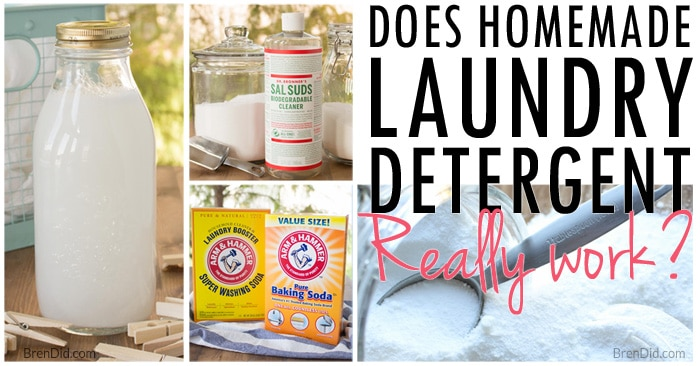 Natural Homemade Laundry Detergent Borax Free