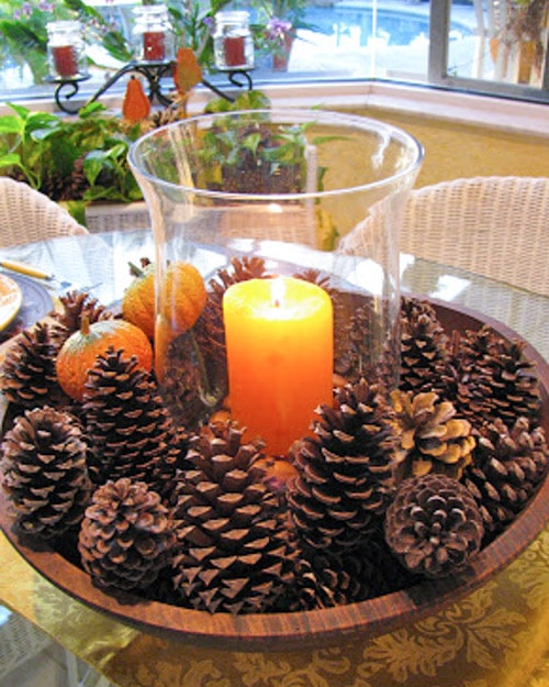 Decorating with Pine Cones: 30 Crafts - Bren Did