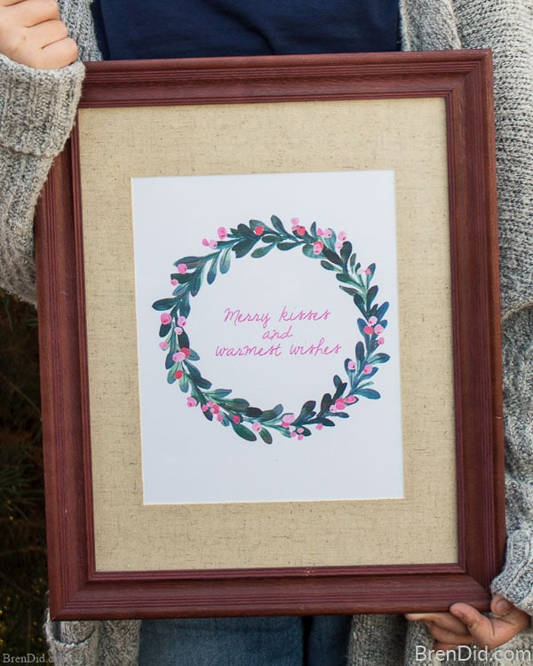 16 Free Pottery Barn Style Knock Off Christmas Printables - Bren Did