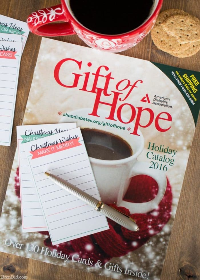 Shop the American Diabetes Association Gift of Hope Catalog to support diabetes research this holiday season. It's a small act that has BIG returns! #sponsored