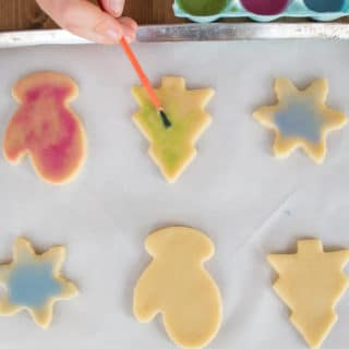 Easy Cookie Decorating with Kids: Painted Sugar Cookies