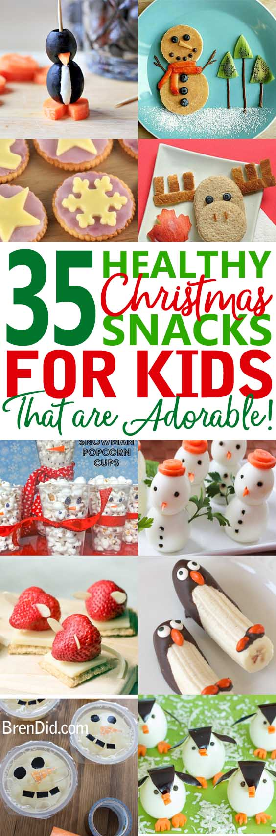 d5f7f36fc6a6a Healthy Christmas treats for kids – Cute   Healthy Christmas snacks for  kids holiday parties