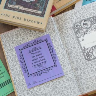 Lemony Snicket's A Series of Unfortunate Events: Free Bookplates