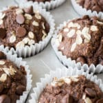 Healthy Chocolate Peanut Butter Muffins Recipe