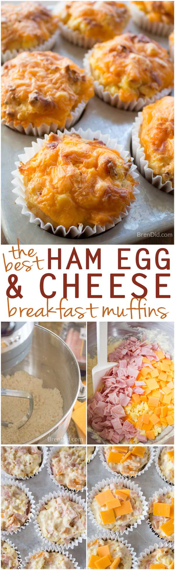 easy breakfast muffins, ham, egg, and cheese biscuits, ham and egg breakfast, easy breakfast, breakfast muffins, Perfect for busy mornings when you don't have time to cook but want to serve a hot, homemade meal. #BeyondTheSandwich ad @Walmart