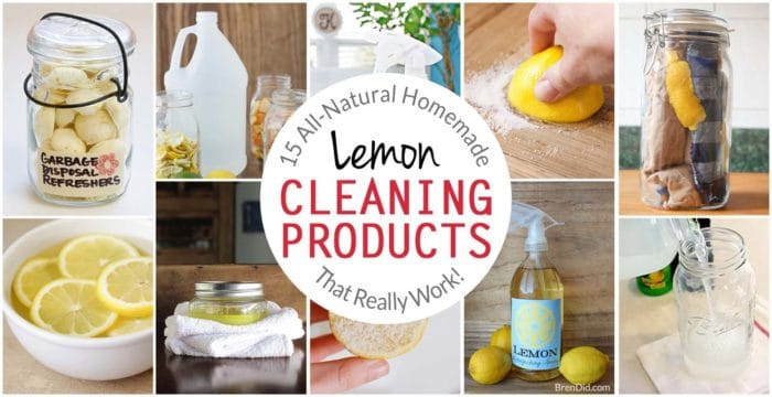 15 all natural homemade lemon cleaning products that really work 15 all natural homemade lemon cleaning products that really work bren did forumfinder Image collections