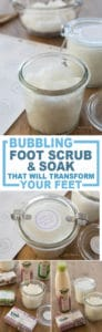 foot scrub image for pinterest