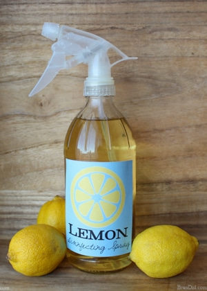 Say good bye to harsh chemicals, these 15 homemade lemon cleaning products use lemons to clean! These recipes can all be made with basic kitchen ingredients, no essential oils needed.