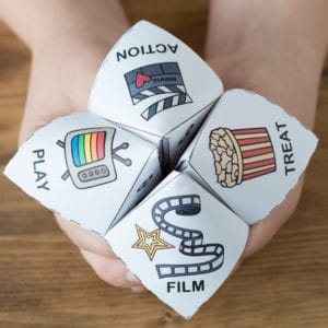 Family movie night selector