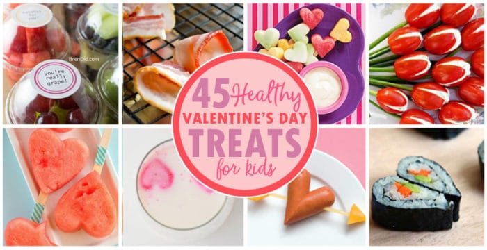 45 healthy valentine's day treats for kids - bren did, Ideas