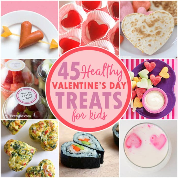 Easy And Healthy Valentineu0027s Day Treats Are Perfect For School Parties,  After School Snacks,