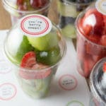 Healthy Treats for Kids: Free Printable Valentine Fruit Labels