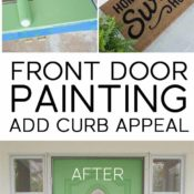 Front Door Painting for Instant Curb Appeal Pin
