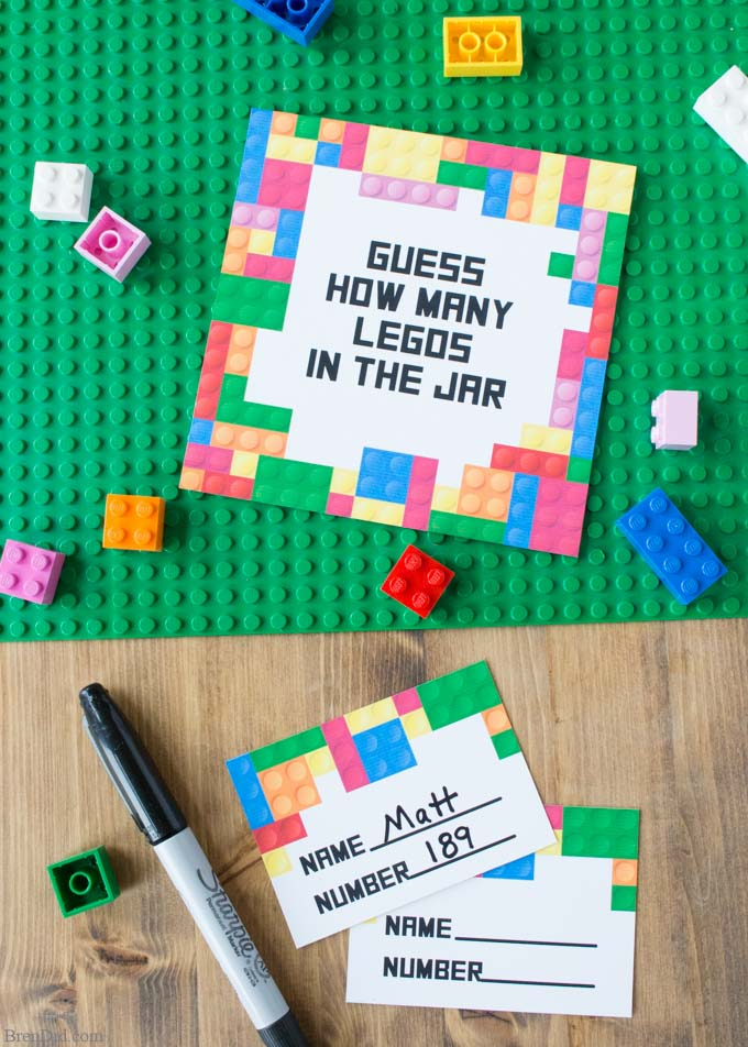 Lego Free Printable Game