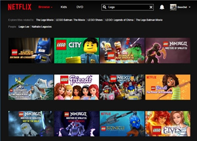Netflix Lego Shows
