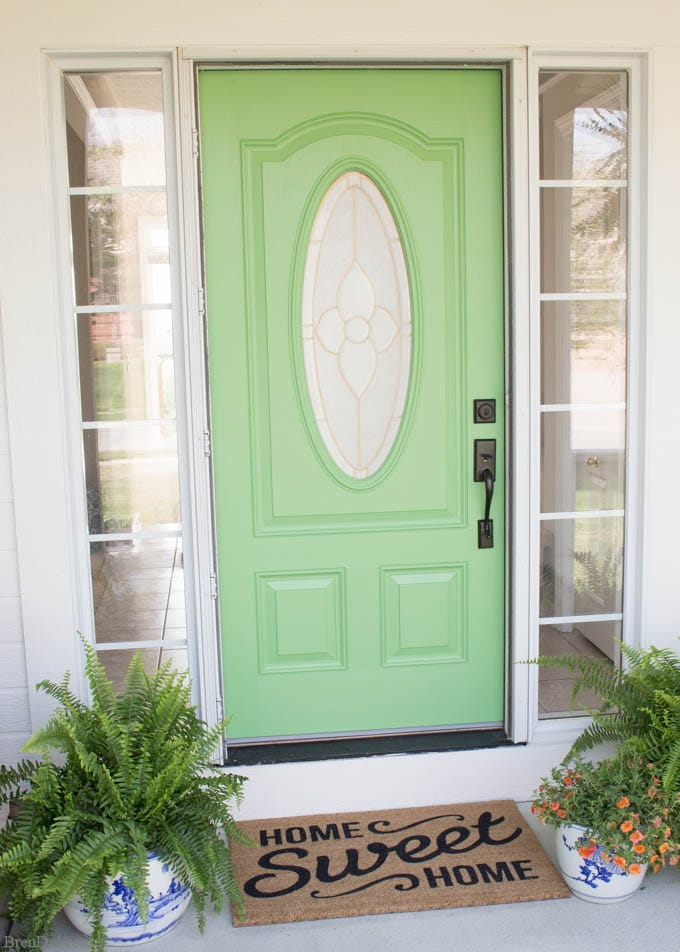 Front Door Painting for Instant Curb Appeal 7