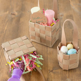 How to Make May Day Baskets: Upcycled Craft Project