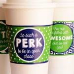 The 10+ Best Free Printable Coffee Gifts for You Teacher