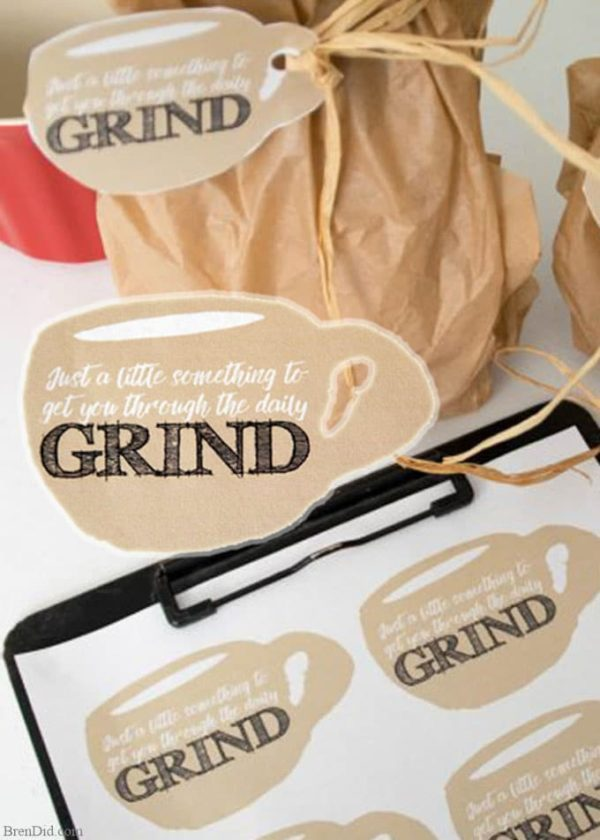 Daily Grind Gift Tags