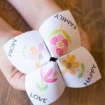Easy Mother's Day Craft for Kids: Fortune Teller