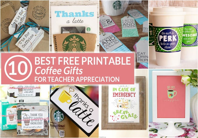 Coffee Teacher Appreciation Gifts FB