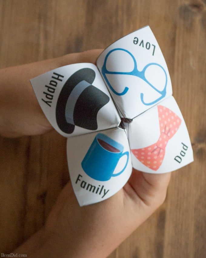 Free Printable Joke Teller with Father's Day Jokes