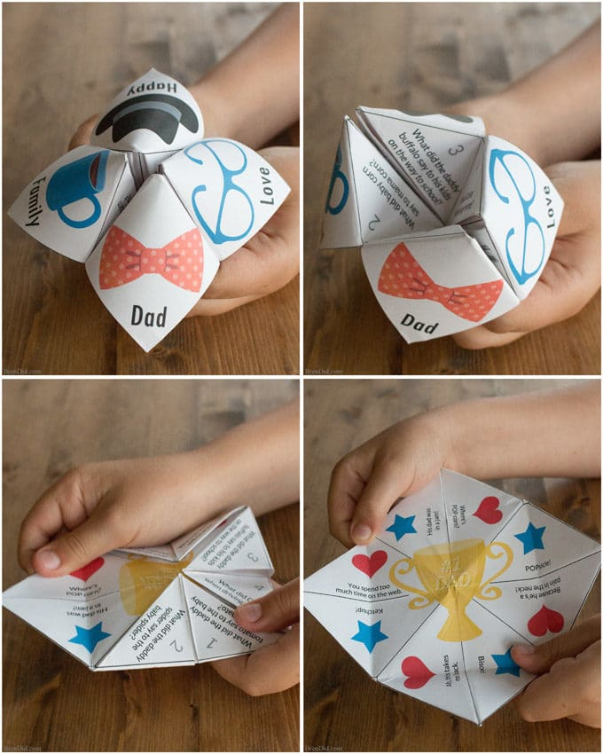 Free Printable Joke Teller With Fathers Day Jokes Bren Did