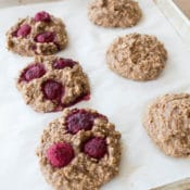 Healthy Cookies baked