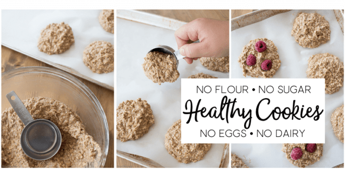 Healthy Cookies Collage for FB
