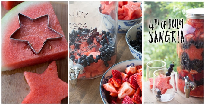 Fourth of July Sangria FB